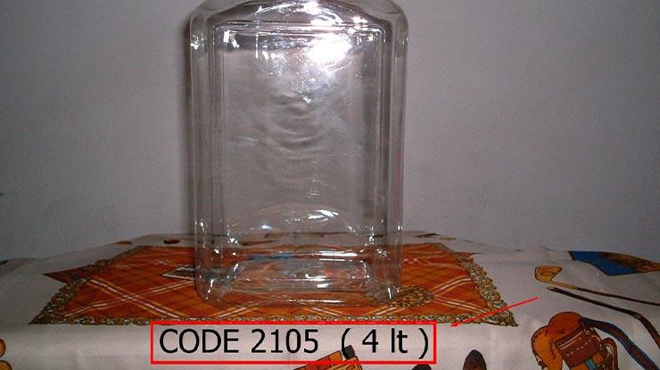 Toples Berukuran 4 Liter