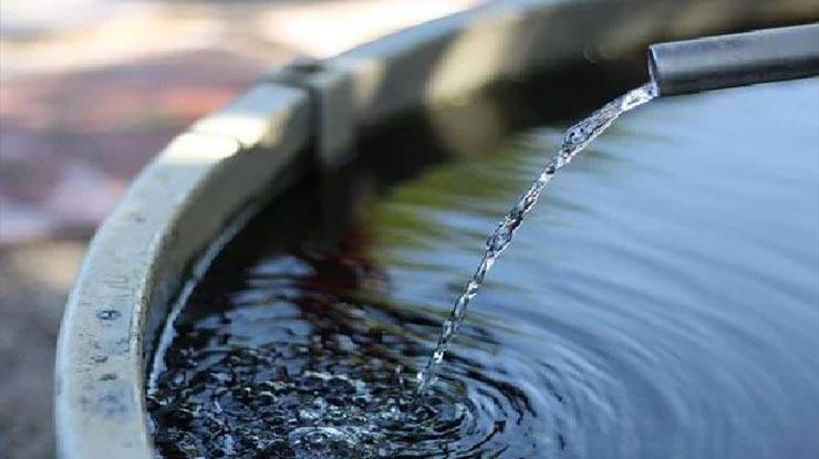 Siapkan Air bersih Yang Sudah Diendapkan